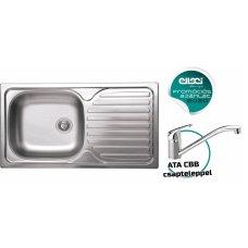 Rozsdamentes mosogató - Special 300 SX inox medence bal oldalt