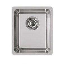 Rozsdamentes mosogató - Space 340 R15 inox munkalap alá szerelhető