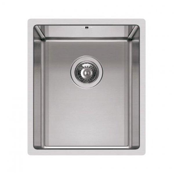 Rozsdamentes mosogató - Square 340 R14 inox munkalapra szerelhető
