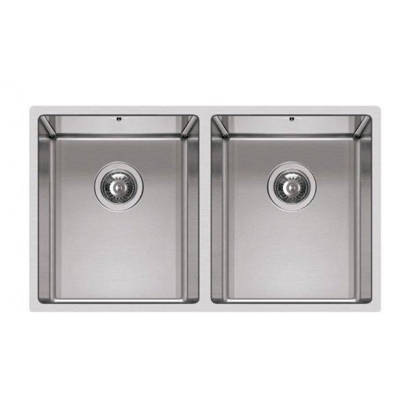 Rozsdamentes mosogató - Square 720 2V R14 inox munkalapra szerelhető