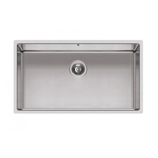 Rozsdamentes mosogató - Square 720 R14 inox munkalapra szerelhető