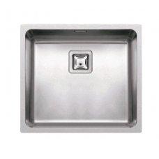 Rozsdamentes mosogató - W-Square 450 inox munkalapra, munkalap alá és szintbe is szerelhető