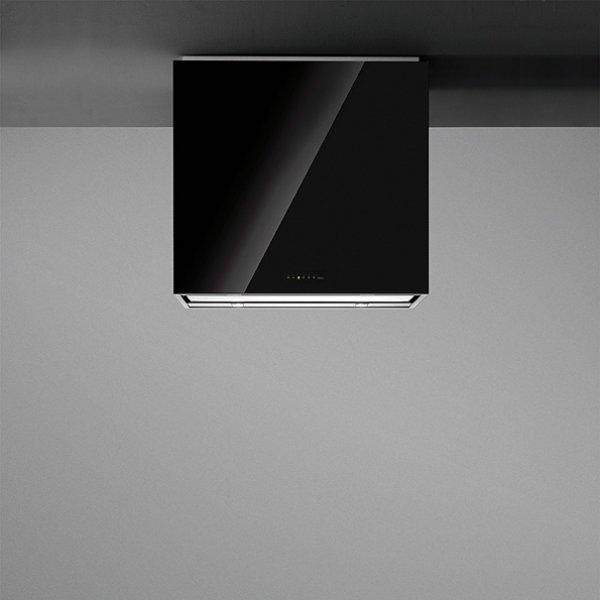 Külső burkolat - LAGUNA 90 fekete üveg (90 cm-es fali) elszívóhoz