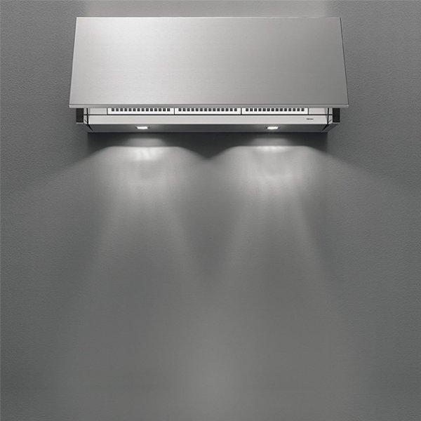 Felső szekrénybe vagy kürtőbe építhető páraelszívó - INTEGRATA 90