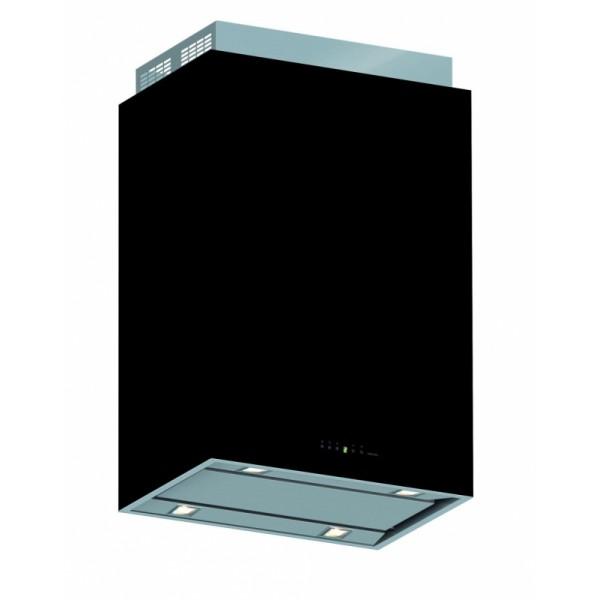 Külső burkolat - LAGUNA 60 fekete üveg  (60 cm-es fali) elszívóhoz