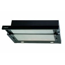 Kihúzható páraelszívó - TF-2003/60 LED BLACK GLASS