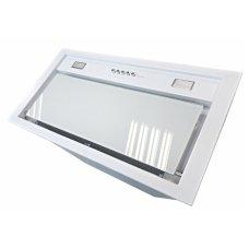 Felső szekrénybe vagy kürtőbe építhető páraelszívó - BUILT-IN 50 MAX VETRO fehér