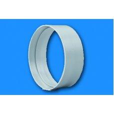 100-as és nagy lapos - Gonal 0615 Cső csatlakozó/toldó (Ø100mm/60x120mm)