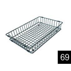 Edényszárító kosár és rács - ELLECI ACI01306 Inox edényszárító kosár Best mosogatókhoz