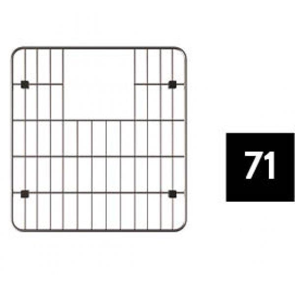 Egyéb tartozékok - ELLECI AGB01306 Mosogató medencébe tehető alsó rács