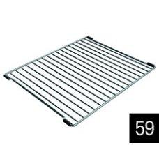 Edényszárító kosár és rács - ELLECI AGD01301 Inox edényszárító rács Easy mosogatókhoz