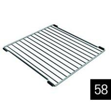 Edényszárító kosár és rács - ELLECI AGD01302 Inox edényszárító rács Easy mosogatókhoz, M méret