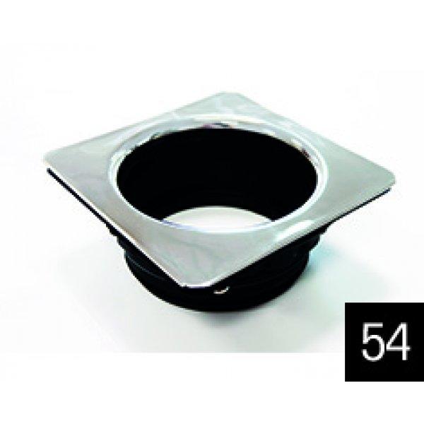 Automata leeresztők (szűrők,szifonok) - ELLECI ATQ01300 Szögletes átalakító csatlakozó konyhamalachoz