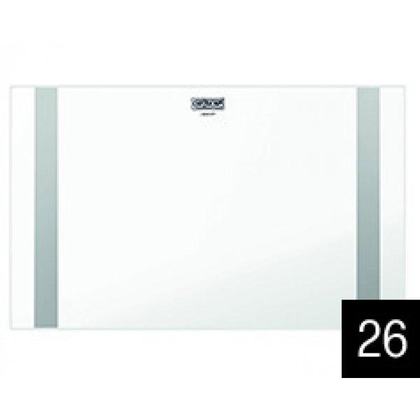 Üveg vágódeszkák - ELLECI ATV01002 Csúsztatható fehér üveg vágódeszka