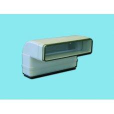 125-ős és lapos - Gonal TP-1060ES (Fit&Go) Lapos csatorna sarok - függőleges