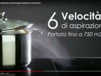 Foster Milano indukciós főzőlap beépített elszívóval