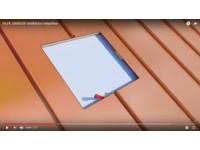 VILPE UNIROOF tetőkibúvó telepítése