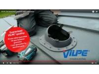 VILPE 2K lemeztető átvezető elem telepítése