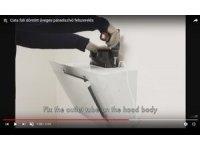 Cata üveges fali páraelszívó felszerelése